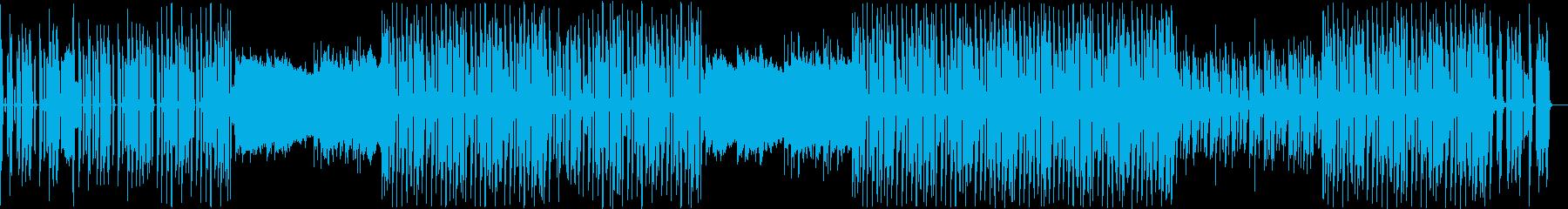 キャッチーなアップテンポ KポップBGMの再生済みの波形