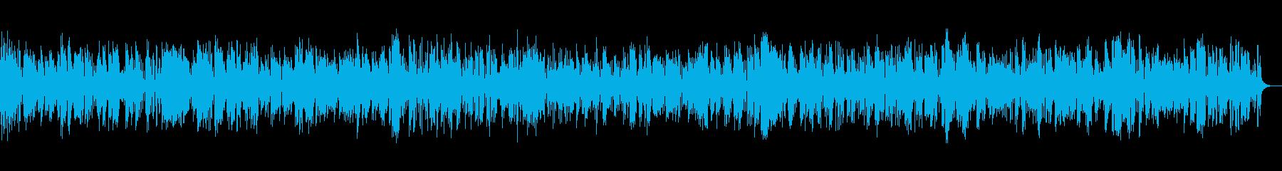 古き良きクラリネットおしゃれジャズバンドの再生済みの波形
