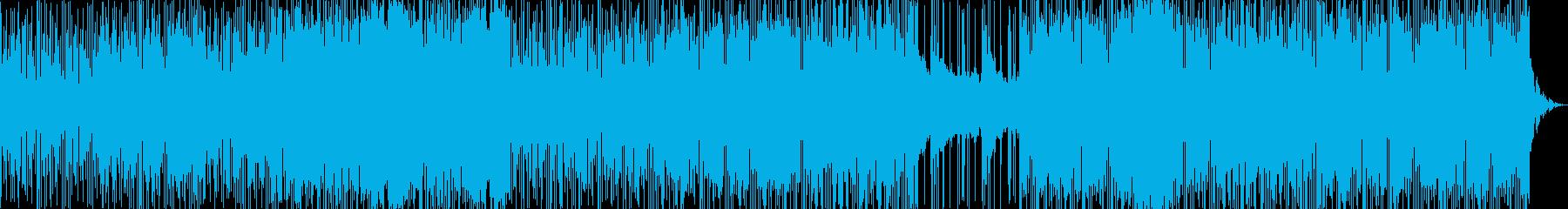 DARKでDOPEなTRAP曲の再生済みの波形