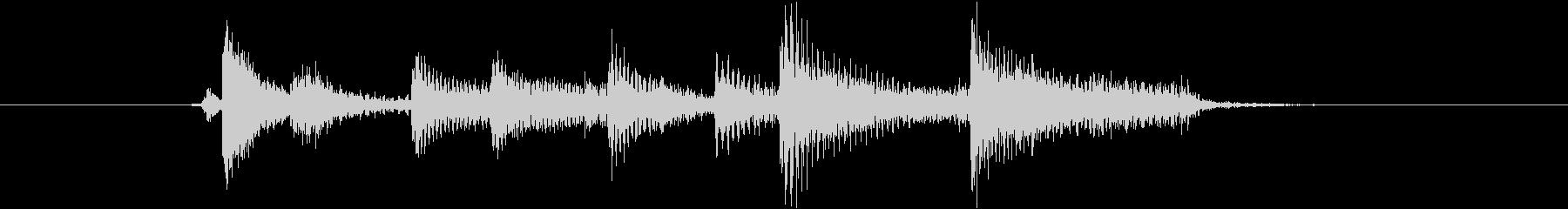 生音 三味線 ショートフレーズ3の未再生の波形