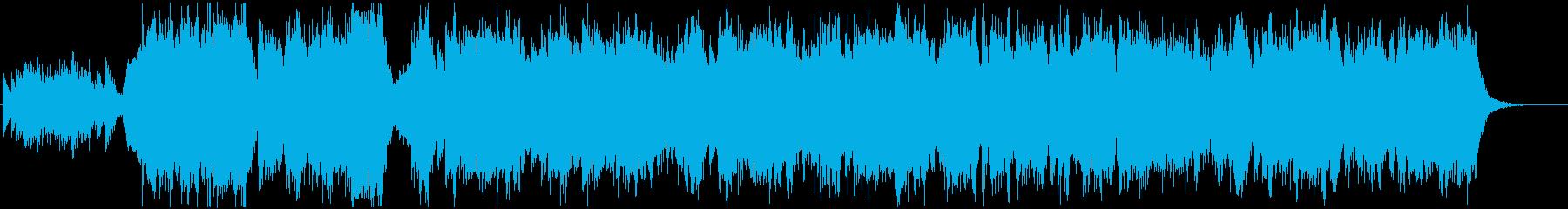 校歌をイメージした吹奏楽の再生済みの波形