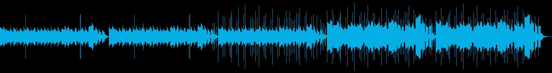 ちょっぴり間抜けなほのぼのとしたBGMの再生済みの波形