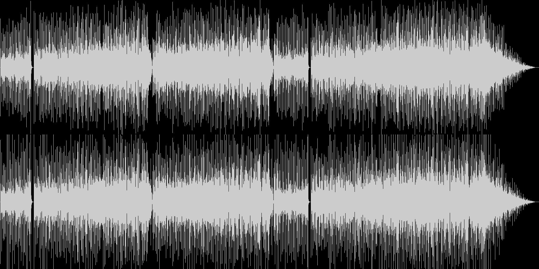 緊張感と切のあるEWIのメロディ。の未再生の波形