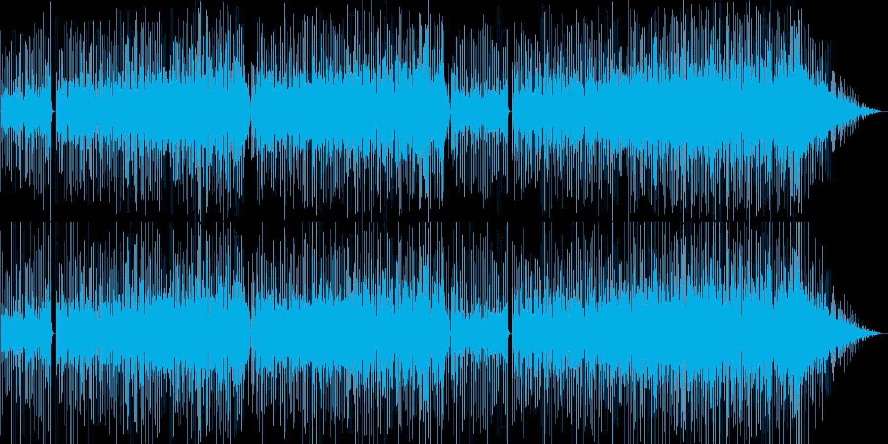 緊張感と切のあるEWIのメロディ。の再生済みの波形