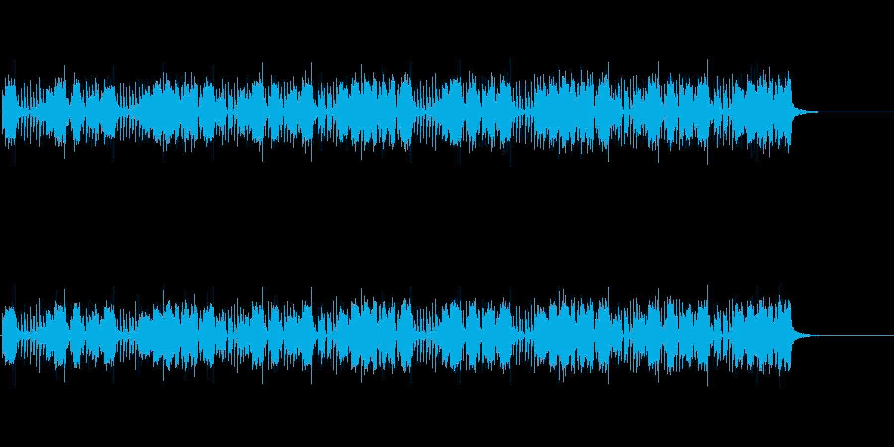 シンセリードが印象的な変則ビートの再生済みの波形