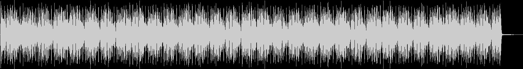 ドラムベース・シンプルなバトル系ループの未再生の波形