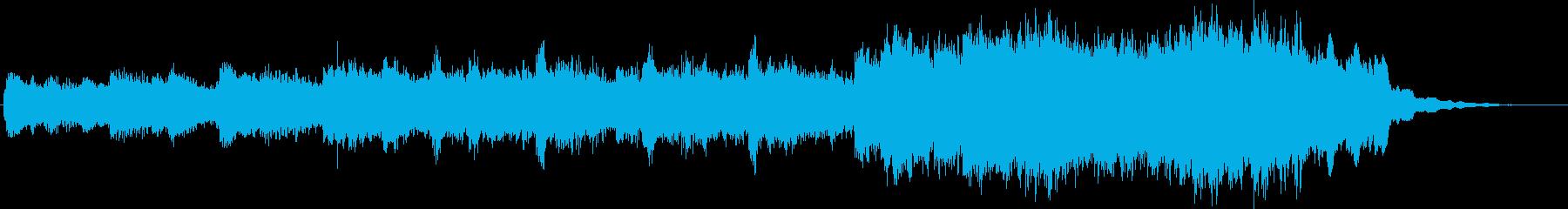 シネマティック サスペンス 感情的...の再生済みの波形