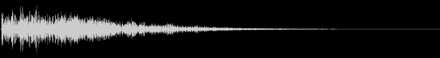 ディープランブリングフットステップの未再生の波形