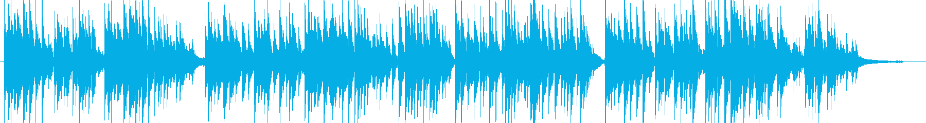 【生演奏】クラシックギターの優しい曲の再生済みの波形