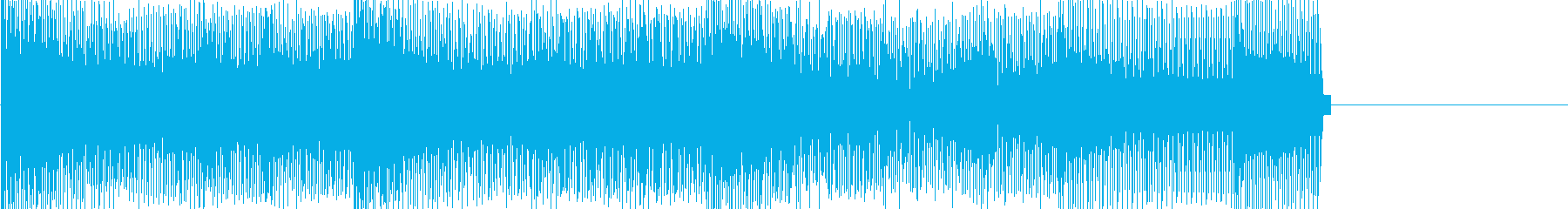 レトロゲームなチップチューンジングル25の再生済みの波形