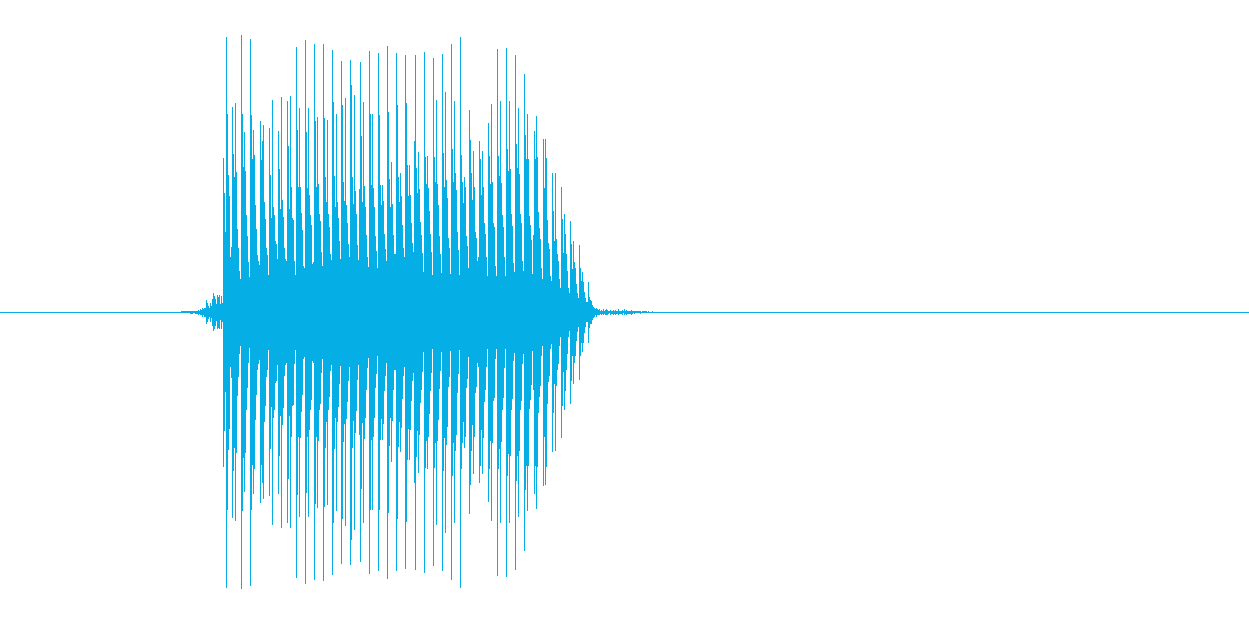 ゲーム(ファミコン風)セレクト音_032の再生済みの波形