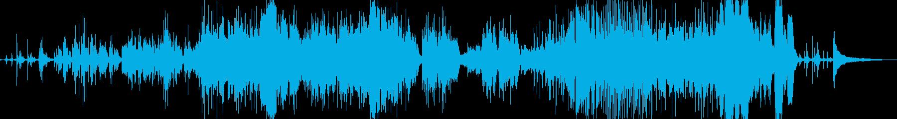 アンビエントコンテンポラリージャズ...の再生済みの波形