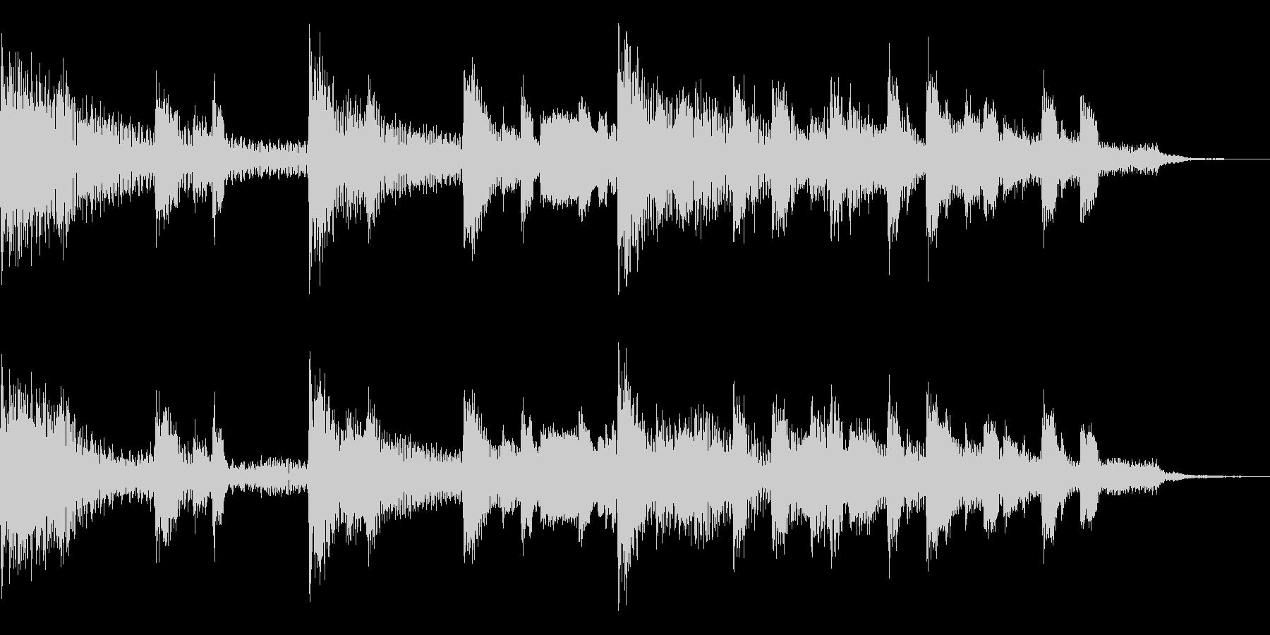 多用途ジングル-3Bの未再生の波形