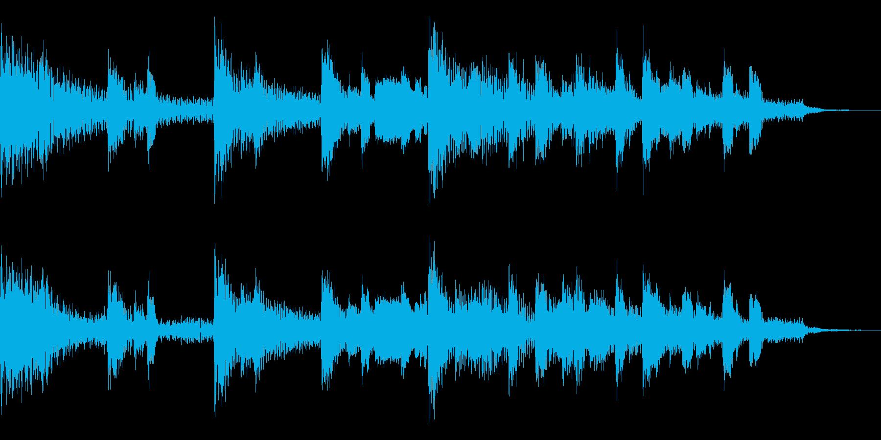 多用途ジングル-3Bの再生済みの波形