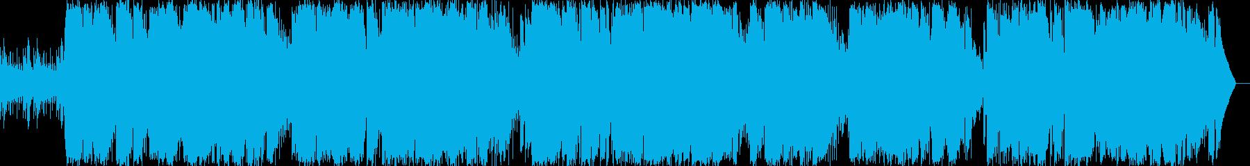 動画 感情的 説明的 バックグラウ...の再生済みの波形
