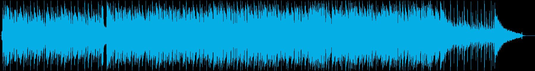爽やかでおしゃれな日常曲の再生済みの波形