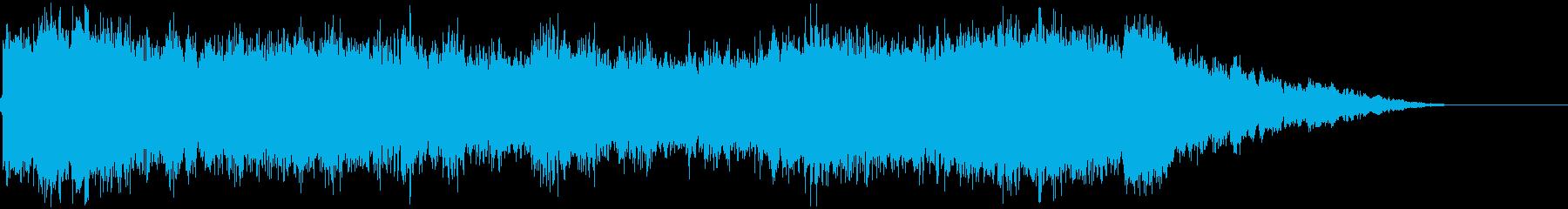 【ホラー】ヒット_01 ギャーンッ!!の再生済みの波形