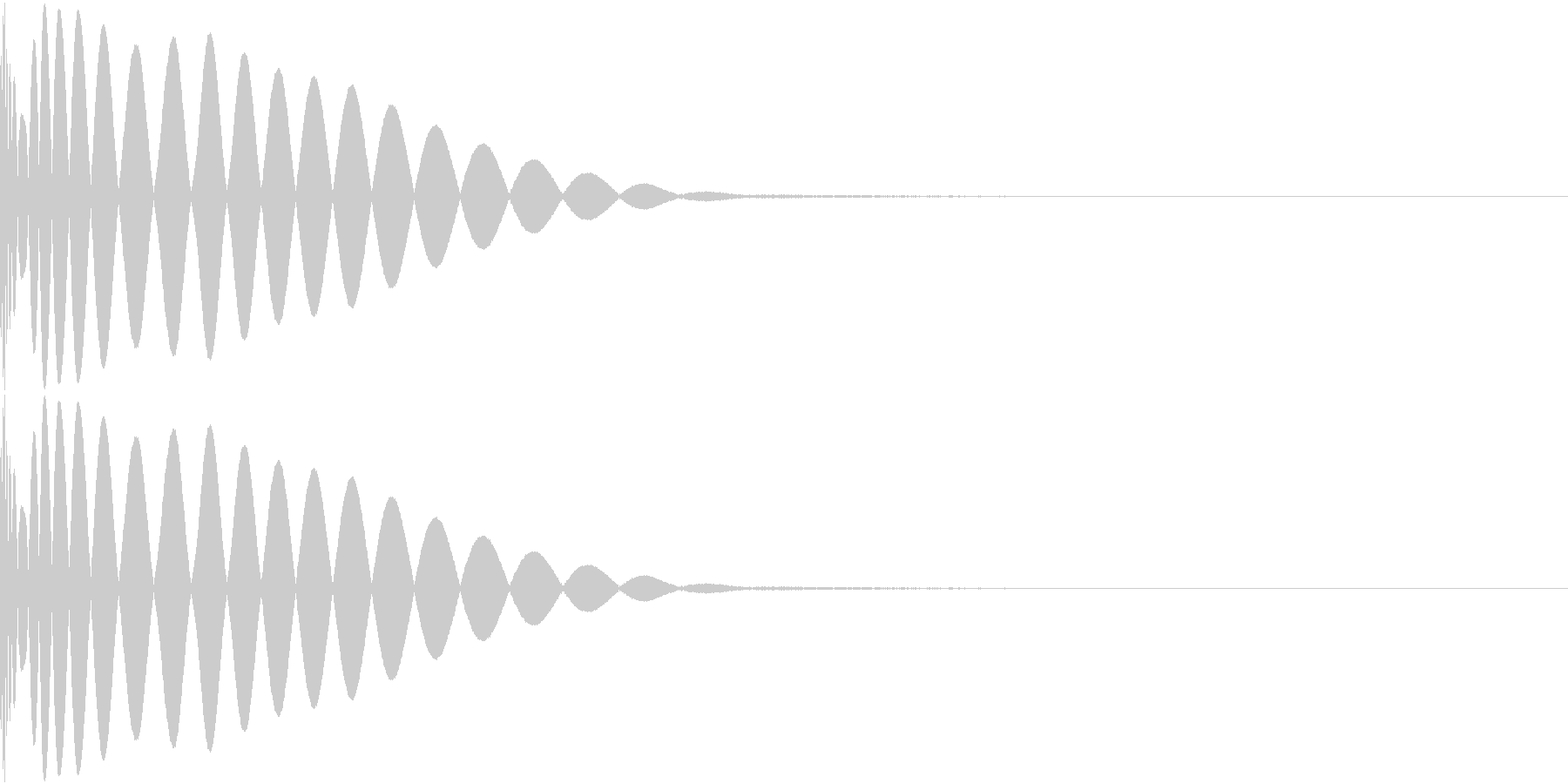 DTM Kick 81 オリジナル音源の未再生の波形