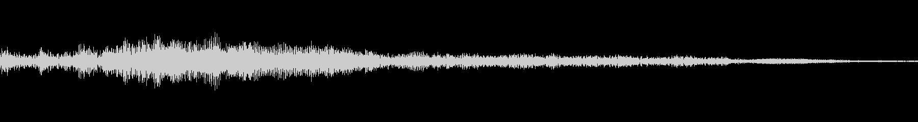 ホラー系導入音_その9の未再生の波形