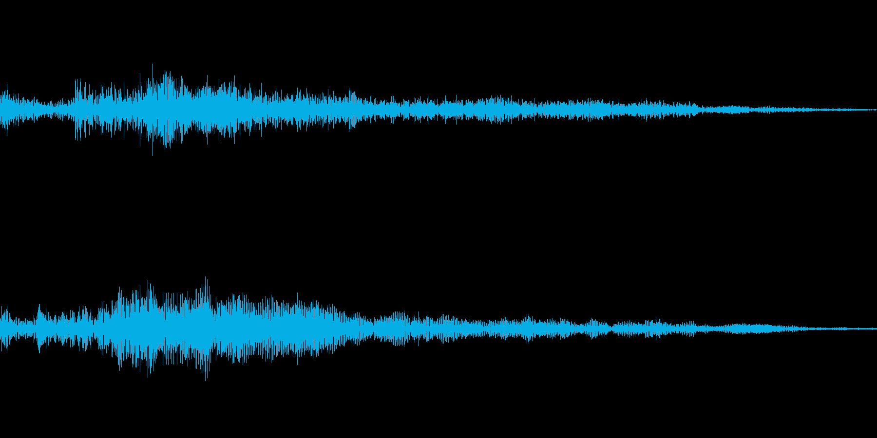 ホラー系導入音_その9の再生済みの波形