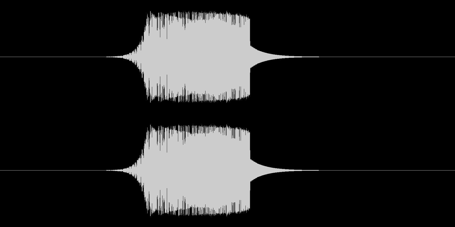 素振り、刀系の未再生の波形