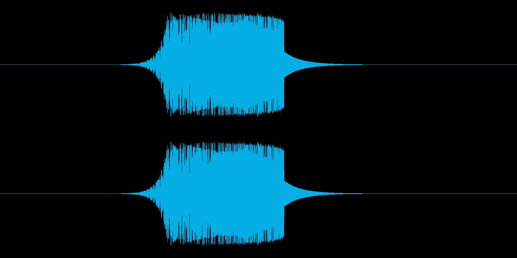 素振り、刀系の再生済みの波形
