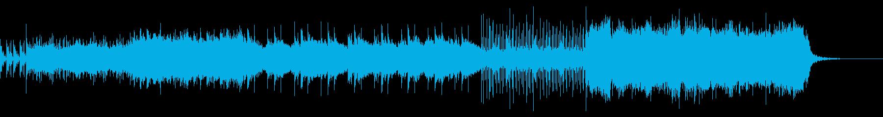 壮大なイメージのヒーリング音楽の再生済みの波形