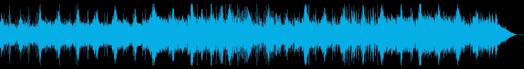 静かに忍び寄るIDMの再生済みの波形