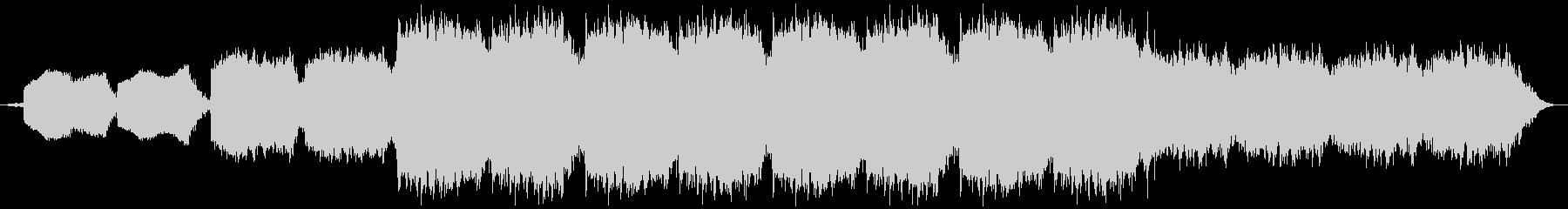ホラーな歌声や呻きを用いたテクスチャーの未再生の波形