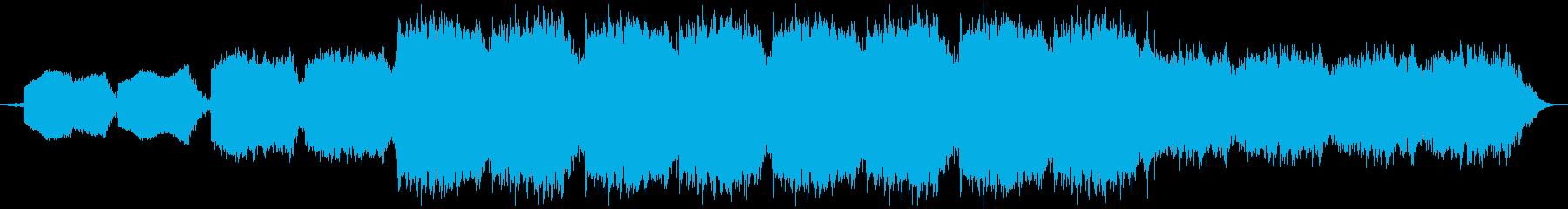 ホラーな歌声や呻きを用いたテクスチャーの再生済みの波形
