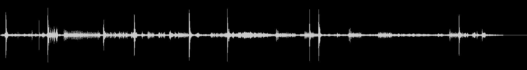 リトルモンキー-鳥のさえずりの未再生の波形