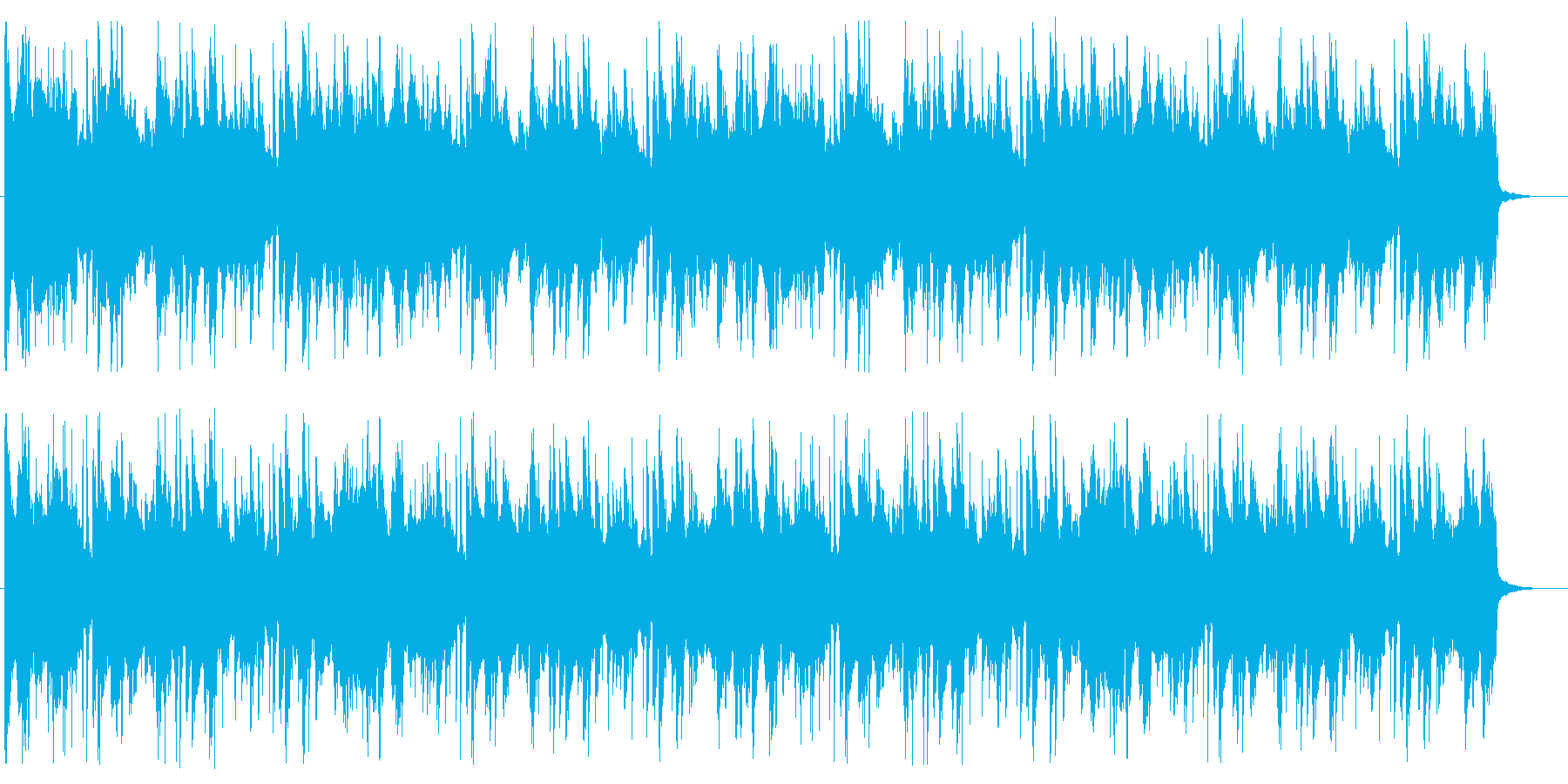 爽やか/落ち着き/R&B_No597_5の再生済みの波形