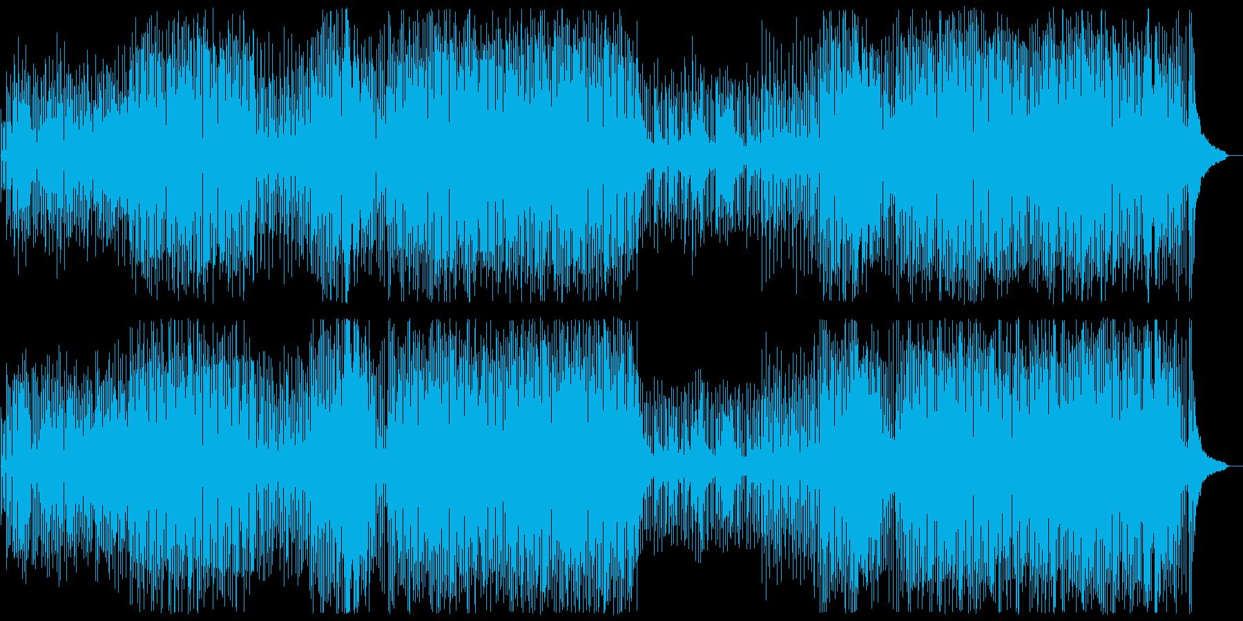 不思議のアトリエの再生済みの波形