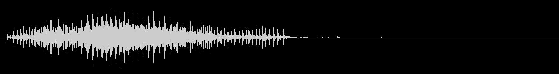 チェーンプーリー:ショートプル、ホ...の未再生の波形