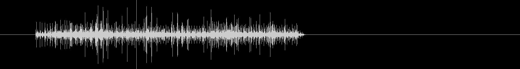 ビリリ!☆電流の流れる音 2の未再生の波形