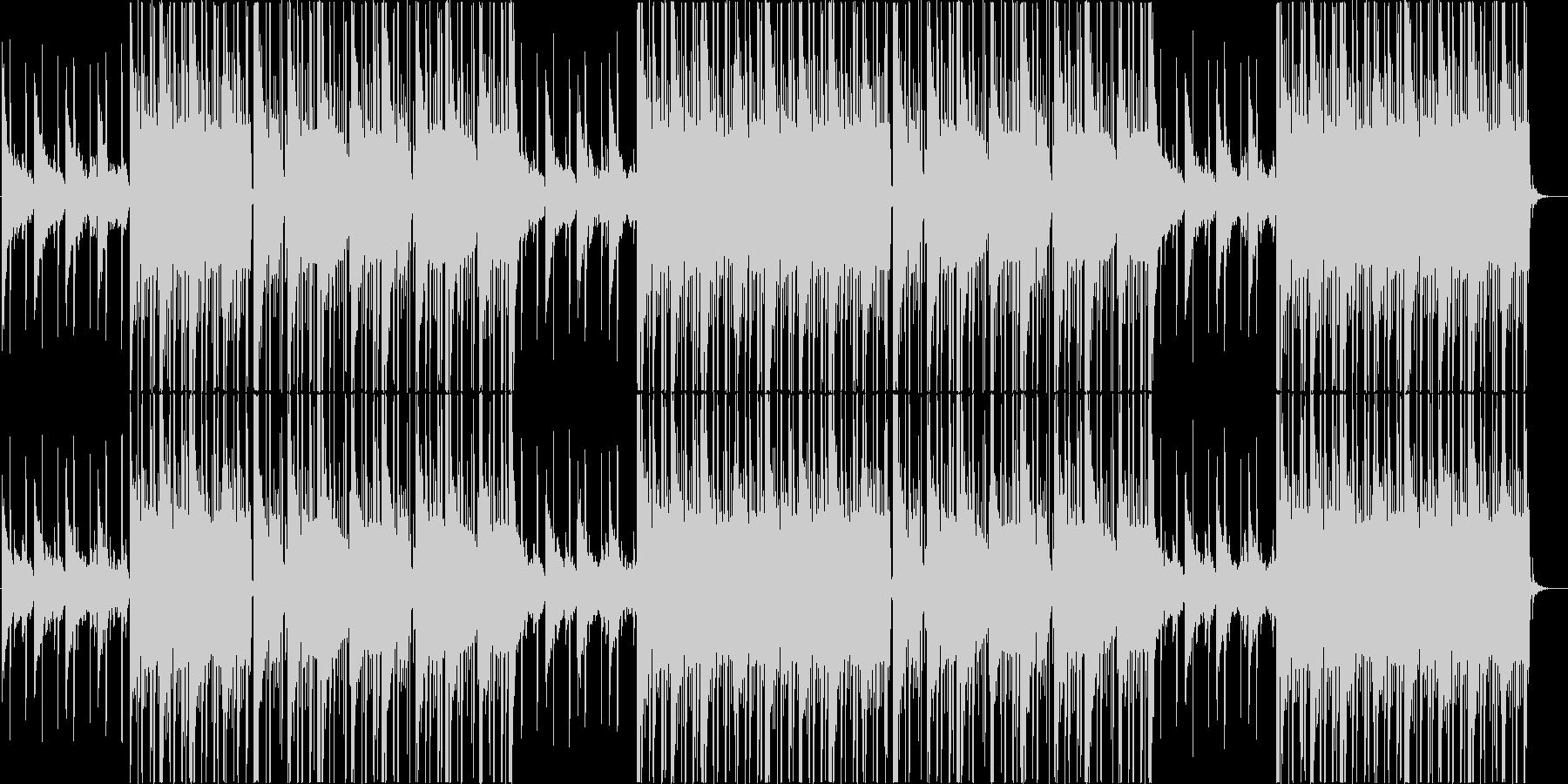 穏やかなローファイ、チルアウトR&B♬の未再生の波形