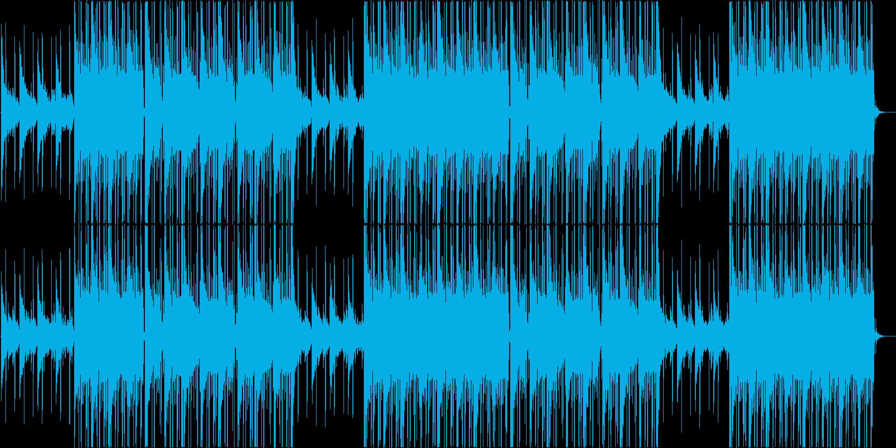 穏やかなローファイ、チルアウトR&B♬の再生済みの波形