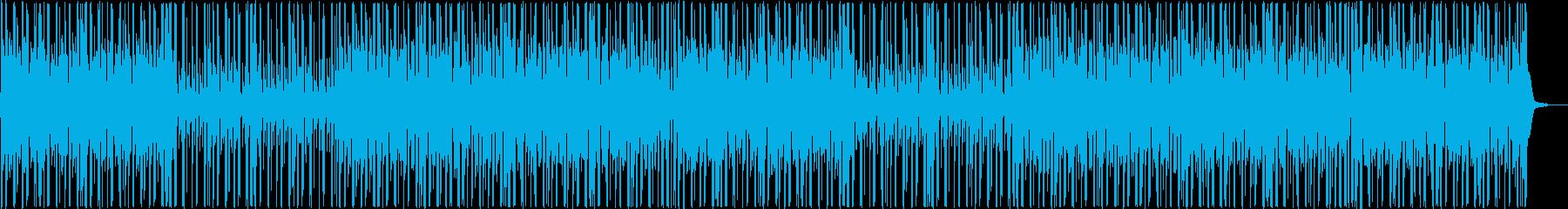 綺麗なピアノのLo-Fi Hip-Hopの再生済みの波形