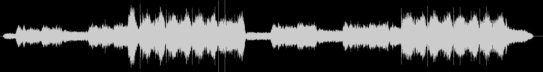 ヒーリングボイスが印象的な癒やしサウンドの未再生の波形