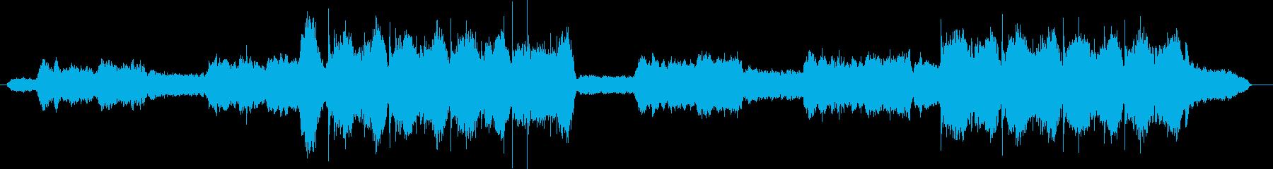 ヒーリングボイスが印象的な癒やしサウンドの再生済みの波形