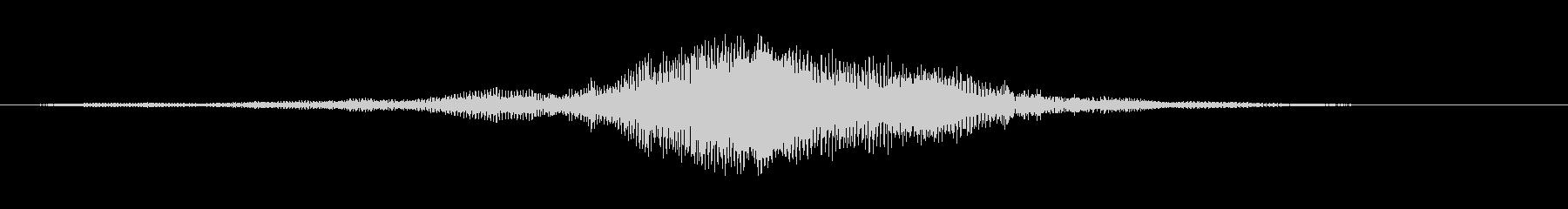 ソフトモーターバイ1の未再生の波形