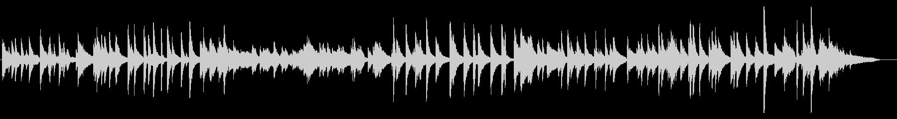 クールでjazzyな明るめピアノバラードの未再生の波形