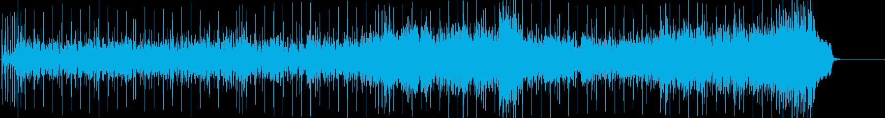 CM 店内 ショッピング 情報 ドライブの再生済みの波形
