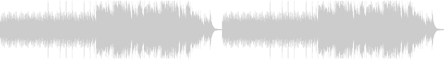 悲しい、暗い系のピアノの未再生の波形