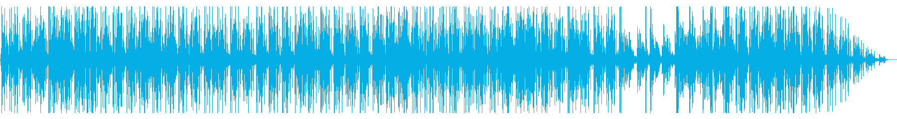 Fashionable and cool piano jazz's reproduced waveform