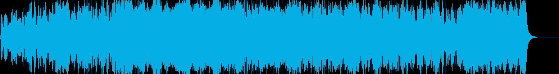 ハリウッド系オーケストラ 緊張感 走るの再生済みの波形