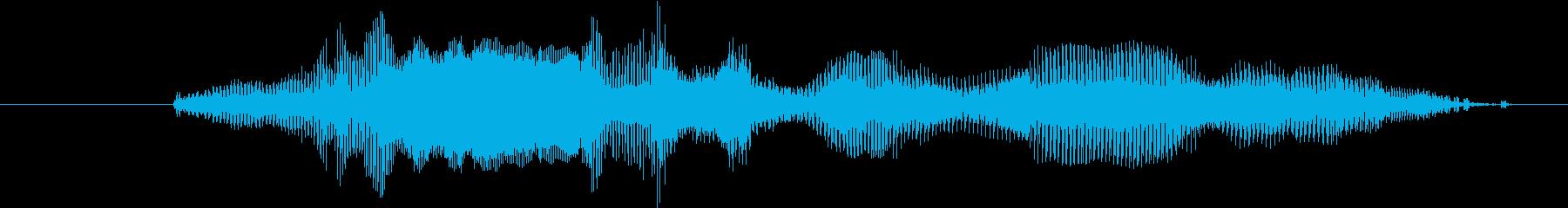鳴き声 Little Girl C...の再生済みの波形