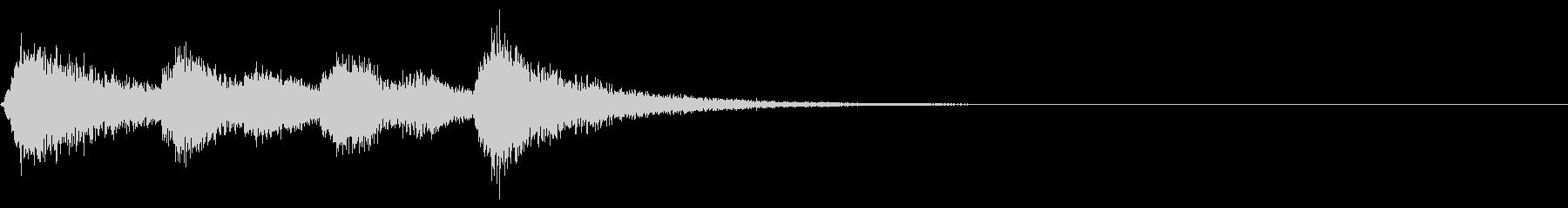 壮大なストリングスのジングル・4の未再生の波形
