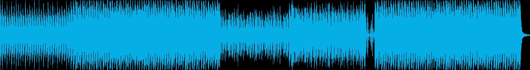 アラビアンなフレーズが印象的なBGMの再生済みの波形
