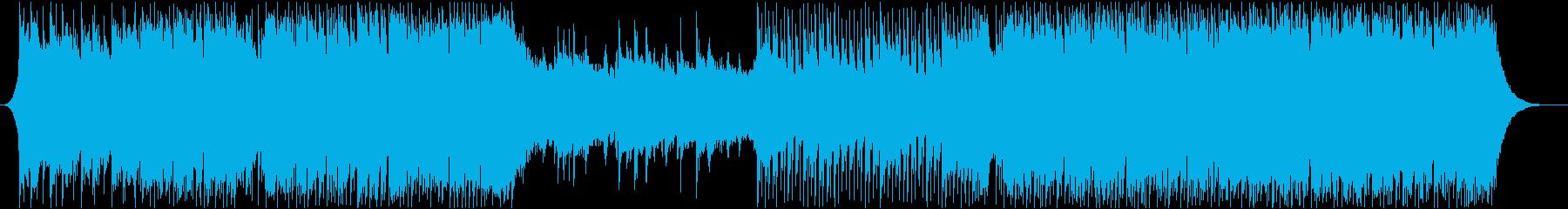 OP・ED・星空・キラキラ・スマホの再生済みの波形